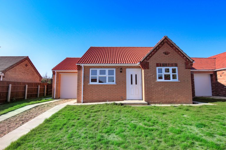 New Build Bungalow, Horncastle, Lincolnshire