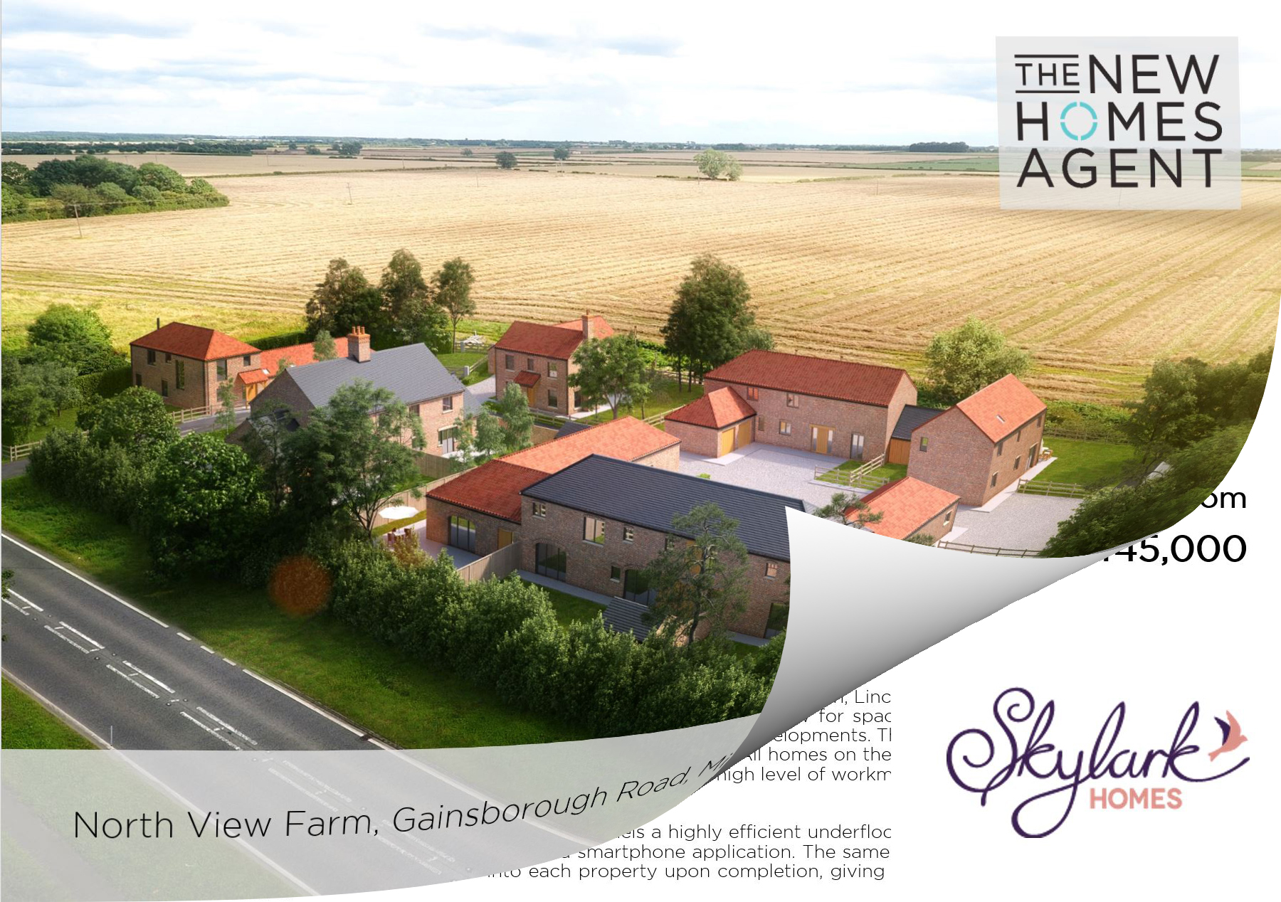 New Homes for sale in Middle Rasen